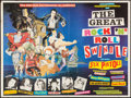 """Movie Posters:Rock and Roll, The Great Rock 'n' Roll Swindle (Virgin Films, 1980). British Quad (30"""" X 40""""). Rock and Roll.. ..."""