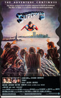 "Movie Posters:Action, Superman II (Warner Brothers, 1981). Standee (35.5 X 58""). Action.. ..."