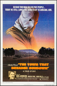 """The Town That Dreaded Sundown & Other Lot (American International, 1977). One Sheets (2) (27"""" X 41""""). Thri..."""