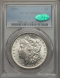 Morgan Dollars, 1903 $1 MS66+ PCGS. CAC. PCGS Population: (1076/97 and 89/7+). NGCCensus: (500/107 and 18/1+). CDN: $400 Whsle. Bid for pr...