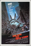 "Movie Posters:Science Fiction, Escape from New York & Other Lot (Avco Embassy, 1981). OneSheets (2) (27"" X 41""). Science Fiction.. ... (Total: 2 Items)"