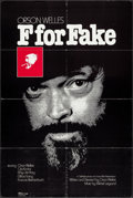 "Movie Posters:Documentary, F for Fake (Specialty Films, 1974). One Sheet (27.75"" X 41.75""). Documentary.. ..."