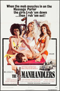 """Movie Posters:Bad Girl, The Manhandlers & Other Lot (Premiere Releasing, 1973). OneSheets (2) (27"""" X 41""""). Bad Girl.. ... (Total: 2 Items)"""