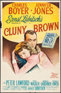 "Movie Posters:Comedy, Cluny Brown (20th Century Fox, 1946). One Sheet (27"" X 41""). Comedy.. ..."