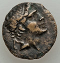 Ancients:Ancient Lots , Ancients: GROUP LOTS. Greek. Macedonian and Bithynian Kingdoms. Lotof three (3) AE units. Fine-About VF.... (Total: 3 coins)