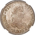 Chile, Chile: Ferdinand VII 8 Reales 1814 So-FJ MS63 NGC,...