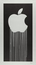 Fine Art - Work on Paper:Print, Zevs (b. 1977). Liquidated Apple, 2011. Lithograph on paper.35-1/2 x 19-3/4 inches (90.2 x 50.2 cm) (sheet). Edition 30...