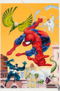 Original Comic Art:Covers, Mike Zeck and Phil Zimelman Ultimate Spider-Man CoverPainting Original Art (Marvel/Boulevard, 1994)....