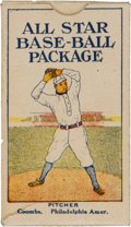 "Baseball Cards:Singles (Pre-1930), 1910 Dockman & Son ""All Star Base-Ball Package"" Complete Boxwith Mathewson and Coombs! ..."