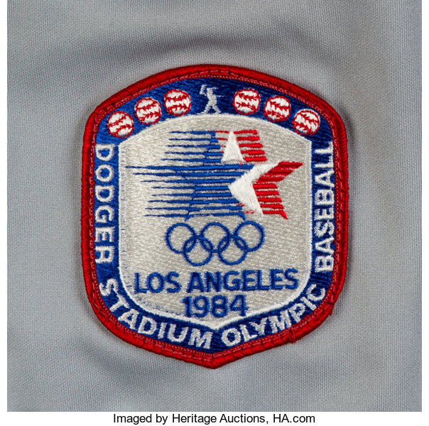 af09dea9e 1984 Mike Marshall Game Worn Los Angeles Dodgers Jersey. ...