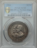 Expositions and Fairs, 1904 Louisiana Purchase Exposition, Official Souvenir Medal, HK-299, XF45 PCGS. Silver....