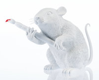After Banksy Love Rat, 2016 Polystone 11 x 13 x 7 inches (27.9 x 33.0 x 17.8 cm) Ed. 301 S