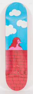 Post-War & Contemporary:Contemporary, Parra (b. 1976). Rockwell, 2012. Screenprint on skate deck.31-7/8 x 8 inches (81.0 x 20.3 cm). Stamped signed on deck. ...