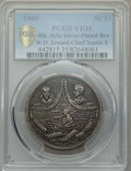 Expositions and Fairs, 1909 Alaska-Yukon-Pacific Exposition, W.H. Seward, Chief SeattleSo-Called Dollar, HK-363a, VF35 PCGS. Silver-plated bronze....