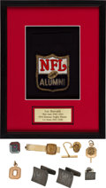 Football Collectibles:Others, 1940's Les Horvath Personally Owned Jewelry Lot of 6....