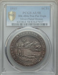 Expositions and Fairs, 1915 Panama-Pacific Exposition, Florida Exposition Fund, HK-404a,AU58 PCGS. Silver-Plated Bronze....