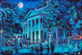 "Animation Art:Production Drawing, ""Haunted Mansion"" Original Painting by Eric Robinson (Walt Disney, 1999). ..."