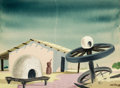 Animation Art:Concept Art, Mary Blair The Three Caballeros Concept Painting (WaltDisney, 1944). ...