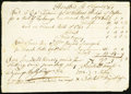 Colonial Notes:Connecticut, Hartford, (CT) Various Amounts of Bills of Exchange Listed Apr. 18, 1765 Fine.. ...