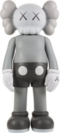 Post-War & Contemporary:Sculpture, KAWS (b. 1974). Companion (Grey), 2007. Painted cast vinyl.50 x 22 x 14 inches (127 x 55.9 x 35.6 cm). Ed. 100. Stamped...(Total: 2 Pieces)