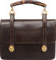 "Gucci Brown Lizard Top Handle Bag Condition: 3 9"" Width x 6"" Height x 1"" Depth"
