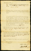 Colonial Notes:Maryland, Baltimore County, MD- Debt Certificate 8000 Pounds Leaf Tobacco1789.. ...