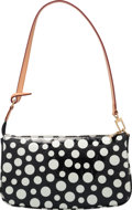 Luxury Accessories:Bags, Louis Vuitton Limited Edition Black Dot Monogram Vernis LeatherInfinity Dots Pochette Accessoires Bag by Yayoi Kusama. ...