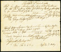 Colonial Notes:Connecticut, Connecticut Bills of Exchange Various Amounts Mar. 8, 1764 VeryFine.. ...