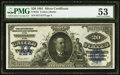 Large Size:Silver Certificates, Fr. 322 $20 1891 Silver Certificate PMG About Uncirculated 53.. ...