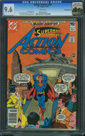 Bronze Age (1970-1979):Superhero, Action Comics #501 - Rocky Mountain (DC, 1979) CGC NM+ 9.6 Whitepages.