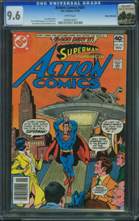 Action Comics #501 - Rocky Mountain (DC, 1979) CGC NM+ 9.6 White pages
