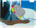 Animation Art:Production Cel, Doctor Seuss' How the Grinch Stole Christmas GrinchProduction Cel Signed by Chuck Jones (MGM, 1966). ...