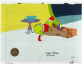 Animation Art:Production Cel, Doctor Seuss' How the Grinch Stole Christmas Grinch Production Cel Signed by Chuck Jones (MGM, 1966). ...