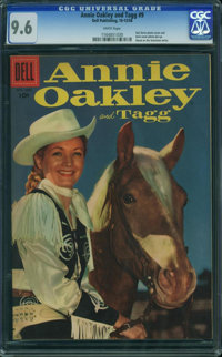 Annie Oakley and Tagg #9 (Dell, 1956) CGC NM+ 9.6 White pages