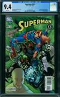 Modern Age (1980-Present):Superhero, Superman #652 (DC, 2006) CGC NM 9.4 White pages.