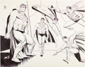 Animation Art:Concept Art, Superman Underoos Illustration by Alex Toth (DC/Fruit of the Loom,c. 1977-81). ...