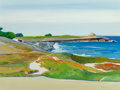 Post-War & Contemporary, Gregory Kondos (b. 1923). Untitled (Point Joe), 1992. Oil oncanvas. 36 x 48 inches (91.4 x 121.9 cm). Signed and dated ...