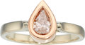 Estate Jewelry:Rings, Fancy Light Purplish Pink Diamond, Gold Ring. ...