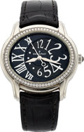 Estate Jewelry:Watches, Audemars Piguet Lady's Diamond, Stainless Steel Millenary Watch . ...