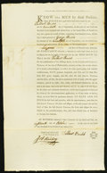 Colonial Notes:Pennsylvania, Philadelphia, PA- Land Grant Northumberland County 400 Acres Sep.20, 1794.. ...