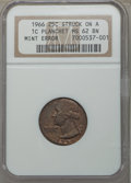 Washington Quarters, 1966 25C MS62 NGC. NGC Census: (0/117). PCGS Popul...