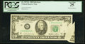 Error Notes:Foldovers, Printed Foldover Error Fr. 2075-L $20 1985 Federal Reserve Note.PCGS Very Fine 25.. ...