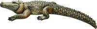 Sergio Bustamante (Mexico, b. 1943) Alligator Painted paper mache Signed and numbered 3/100