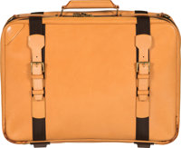 """Louis Vuitton All Vachetta Leather Satellite 50 Suitcase Bag Condition: 4 20"""" Width x 14.5"""" Heigh"""