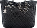 "Art Glass:Daum, Chanel Black Patent Leather Large Shopping Tote. Condition:3. 14"" Width x 12.5"" Height x 5"" Depth. ..."