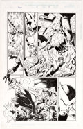 Original Comic Art:Panel Pages, Mark Bagley and Vince Russell Thunderbolts #4 Story Page 9Original Art (Marvel, 1997)....