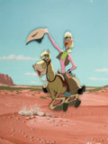 Animation Art:Production Cel, Melody Time Pecos Bill and Widowmaker Production Cel (WaltDisney, 1947). ...