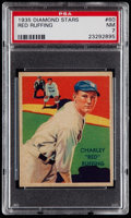 Baseball Cards:Singles (1930-1939), 1935 Diamond Stars Red Ruffing #60 PSA NM 7....