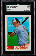Baseball Cards:Singles (1970-Now), 1982 Topps Traded Cal Ripken Jr. #98T SGC 96 Mint 9....