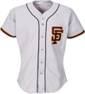 Baseball Collectibles:Uniforms, 1988 Will Clark Game Worn San Francisco Giants Jersey with Team Stamp. ...